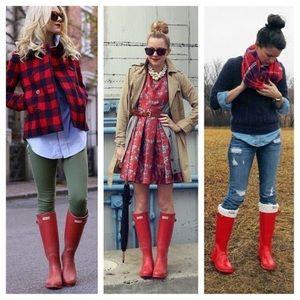 Hunter Women's Boots Original Tall Snow Rain